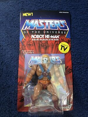 $29 • Buy Super7 Masters Of The Universe Vintage Robot He-Man He Man MOC Mint New