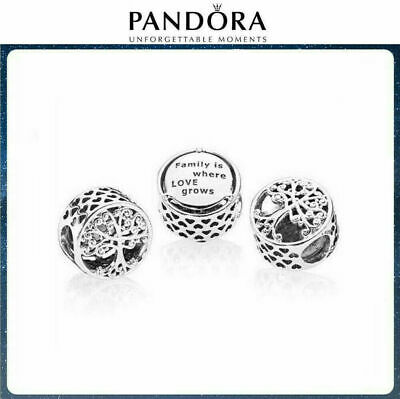 New Genuine  Pandora  Silver Family Roots Tree Silver Charm S925 ALE 797590 UK • 9.79£