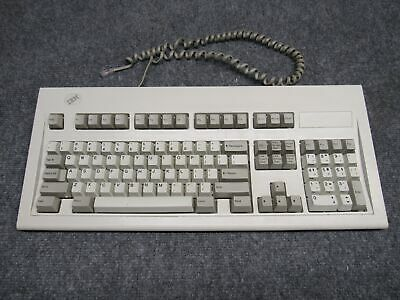 Vintage IBM Model M 1392595 Clicky Mechanical Terminal Keyboard *Tested* • 97.68£