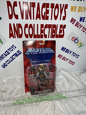 $23.90 • Buy 200X Mattel Masters Of The Universe Mega-Punch He-Man Action Figure Carded