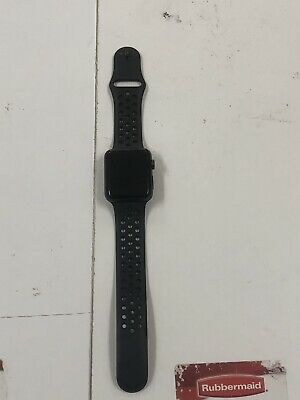 $ CDN178.29 • Buy Apple Watch Series 3 42mm Black Nike+ A1861(GPS+LTE) In Good Condition (USED)