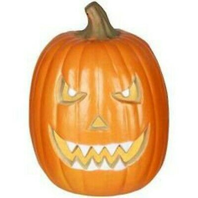 $ CDN43.12 • Buy 12  Blow Mold Scary Spooky Face Jack O Lantern Pre-lit Home Accents