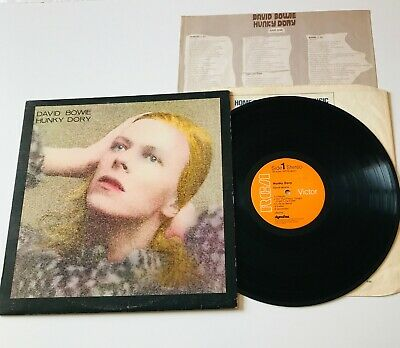 David Bowie   Hunky Dory   RCA Victor Record Label Album SF-8244 ( APRS 5947 ) • 30£