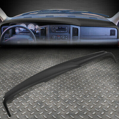 $69.99 • Buy For 02-05 Dodge Ram Truck 1500 2500 Dash Board Cap Dashboard Cover Overlay Black
