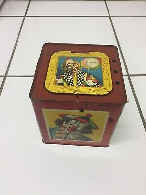Vintage Toy Jack In The Box (clown) Mettoy A 6177 • 19.99£