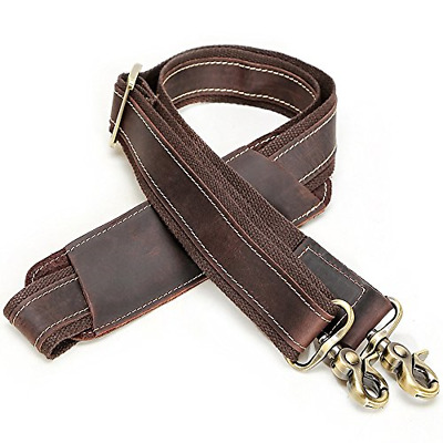 BAIGIO Replacement Leather Bag Strap Belt For Shoulder Computer Laptop Messenger • 20.06£