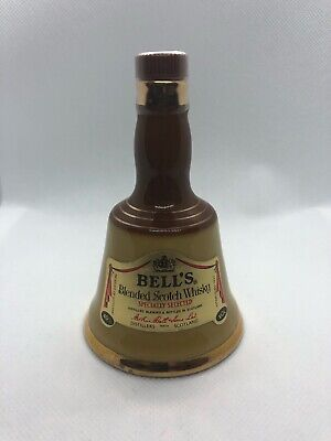 Small Wade Bells 'Old' Scotch Whisky Bottle Ceramic Bell Shape Vintage Decanter • 5£
