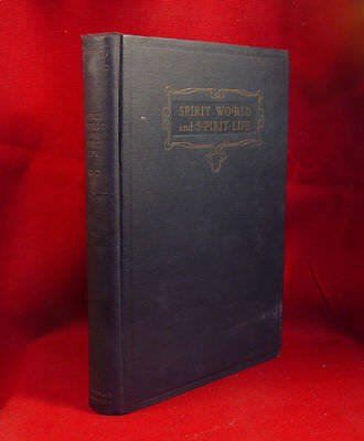 Spirit World And Spirit Life - Automatic Writing By C.E.D. 1922, Uncommon Signed • 318.14£