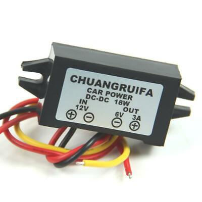 AU6.44 • Buy Waterproof Converter 12V Step Down To 6V 18W Max 3A DC/DC Power Supply New