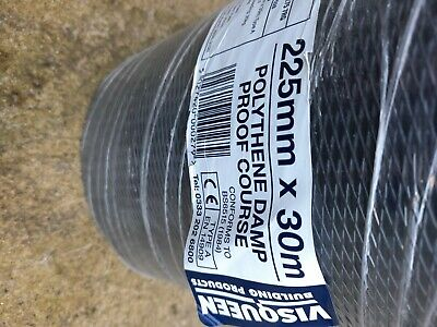 £7.10 • Buy 225×30m Polythene Damp Proof Course