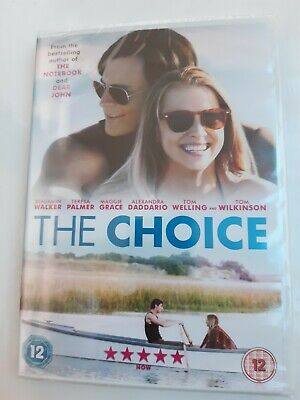 THE CHOICE (DVD) (New And Sealed) From The Book By Nicholas Sparks  • 3.30£