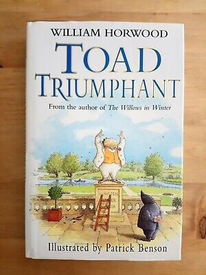 SIGNED FIRST (1ST) EDITION Of THE WIND IN THE WILLOWS - TOAD TRIUMPHANT. HORWOOD • 39.99£