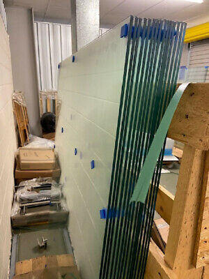 6mm Toughened Glass Panels For Stairs Landing Decking Balcony Balustrade • 37£