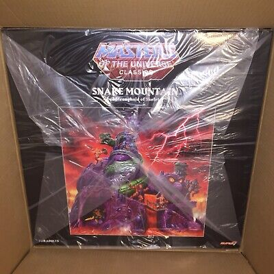 $899.99 • Buy In Stock Now! Super7 Masters Of The Universe Classics Snake Mountain Playset!