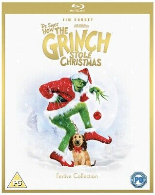 £6 • Buy Dr. Seuss' How The Grinch Stole Christmas - New - Blu-Ray - C