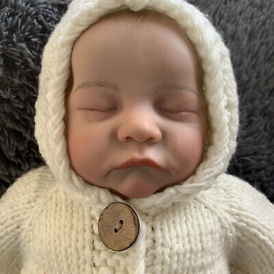 $ CDN87.94 • Buy Reborn Baby Boy Doll Infant Lifelike Birthday Gifts Sleeping Preemie Dolls 19in