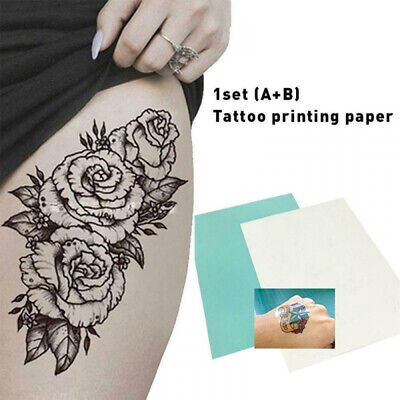 £3.22 • Buy A4 Temporary Tattoo DIY Printing Paper Transfer Decal Papers For Inkjet Printer