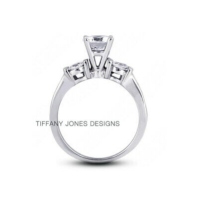 AU3578.94 • Buy 1 1/4ct E SI1 Round Natural Certified Diamonds 950 PL. Classic Engagement Ring