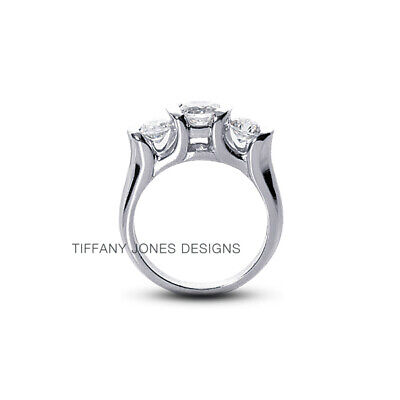 AU3859.93 • Buy 1 1/4ct I SI1 Round Natural Certified Diamonds 950 PL. Classic Engagement Ring