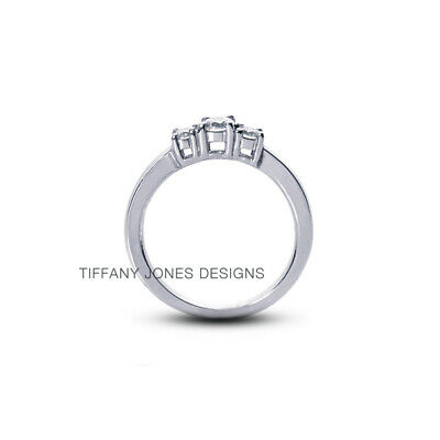 AU3948.66 • Buy 1.15ct F-VS2 Round Natural Certified Diamonds 950 PL. Classic Engagement Ring