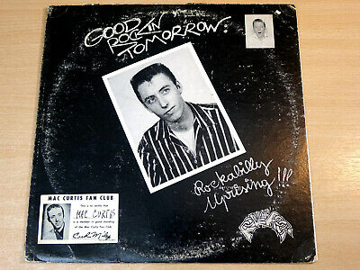 EX !! Mac Curtis/Good Rockin' Tomorrow : Rockabilly Uprising/1975 LP/USA Issue • 9.99£