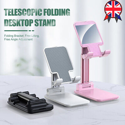 Adjustable Universal Portable Tablet Holder Stand Desk For IPad Phone IPhone • 8.58£
