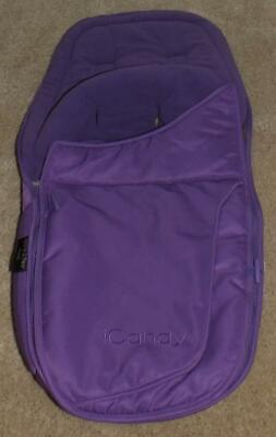 Footmuff - ICandy Apple2Pear Luxury Footmuff Cosytoes - Purple Apple 2 Pear • 29.99£