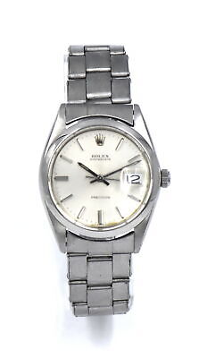 $ CDN2002.46 • Buy VINTAGE GENTS ROLEX OYSTERDATE 6694 WRISTWATCH CAL 1215 STAINLESS STEEL C1968