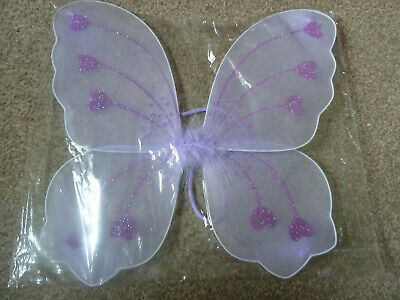 £1.99 • Buy New Butterfly Fairy Wings Fancy Dress Dressing Up Party Lilac