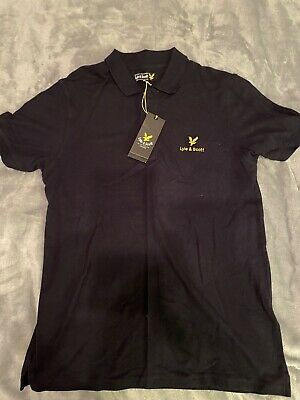 Lyle And Scott Polo Shirt Large • 5£