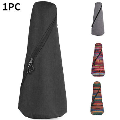 AU34.96 • Buy 21 23inch Simple Storage Bag Zipper Closure Double Shoulder Ukulele Case Folding