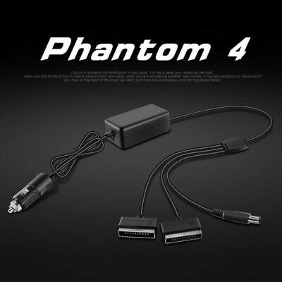 AU28.08 • Buy Car Charger Adapter For DJI Phantom 4 Drone Pro Professional Battery Accessories
