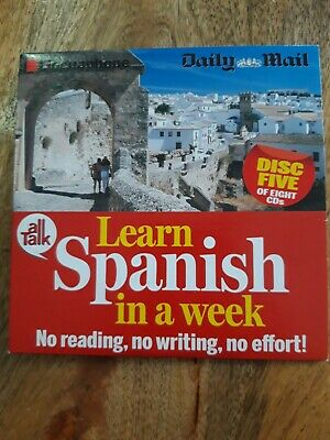 Linguaphone All Talk Daily Mail Learn Spanish In A Week Disc 5   • 1.20£