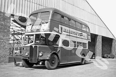 Bus Photograph POTTERIES MOTOR TRACTION REH 532 [H532] • 1.10£