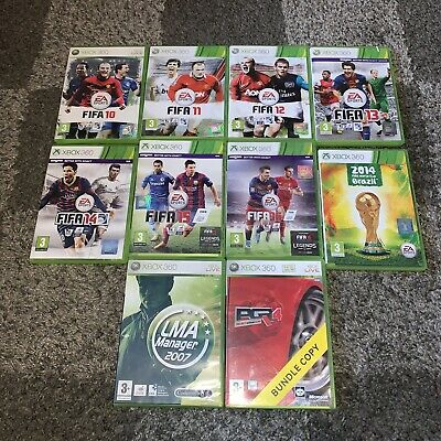 Xbox 360 Games Bundle (Inc. LMA Manager 2007) • 5£
