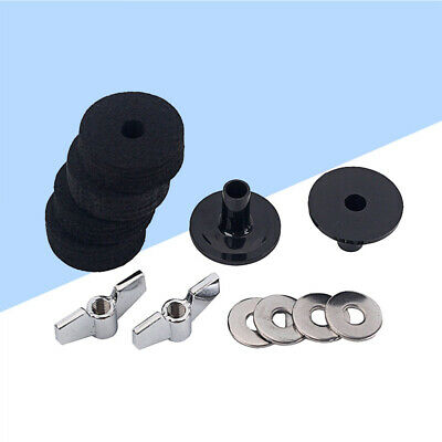 12pcs Drum Cymbal Accessories Durable Prime Wing Nut Washer Cymbal Felt For Drum • 7.54£