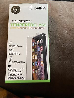 AU18.85 • Buy ✅ Belkin ScreenForce TemperedGlass Screen Protection For IPhone XS/X