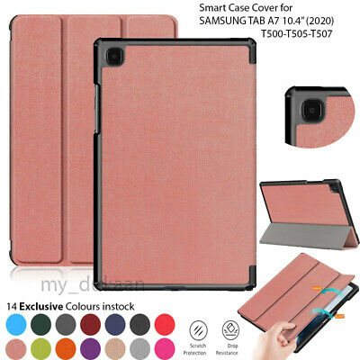 Smart Leather Magnetic Case Cover For Samsung Galaxy Tab A7 10.4  SM-T500 (2020) • 7.49£