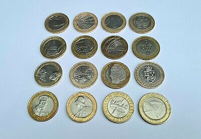 2 Pound Coin Job Lot £2 Coin Collection 16x Two Pounds  • 33.99£
