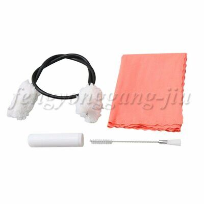 AU13.68 • Buy 12x7x2cm Cleaning Care Kit Brush Polishing Cloth Cork Grease For Flute Clarinet