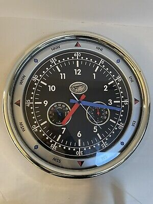 £28.67 • Buy Spirit Of St Louis Airfield Wall Clock Temp Humidity SOSL Collection See Descr