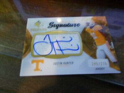 $4.99 • Buy Justin Hunter 13 Sp Threads Rpa Autograph Auto Rc 245/275 Tennessee Vols Titans