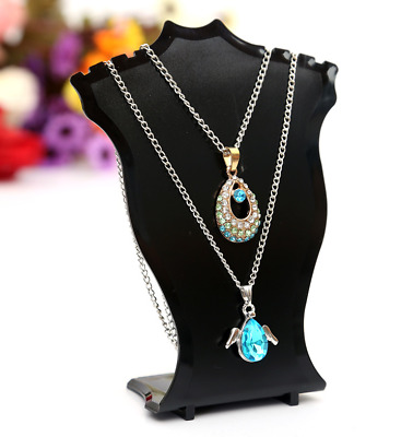 £2.49 • Buy 1Pc Tall Necklace Pendant Display Bust - Jewellery Mannequin Stand Holder Racks