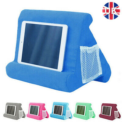 UK Soft Lap Stand For IPad Tablet Multi-Angle Phone Cushion Laptop Holder • 9.69£