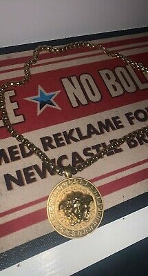 £270 • Buy Rare Gold Plated Medusa Versace Chain RRP £550