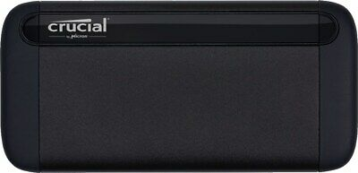Crucial X8 1TB Mobile External Solid State Drive In Black - USB3.1 • 135.39£