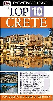 Crete (DK Eyewitness Top 10 Travel Guide), Gauldie, Robin, Used; Good Book • 2.19£