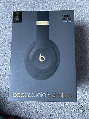 Beats By Dr. Dre Studio3 Wireless Headphones Midnight Black BOX ONLY NO HEADPHON • 16£