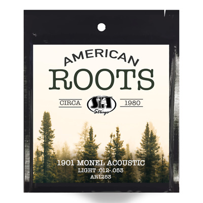 $ CDN11.27 • Buy SIT - American Roots Monel Acoustic Guitar Strings Light 12-53 Free US Shipping
