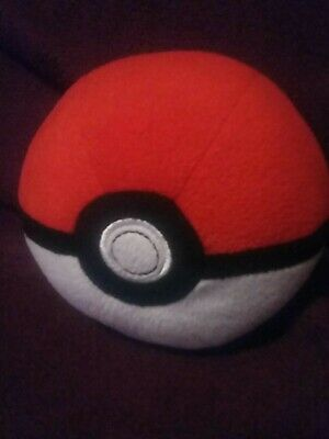 Pokemon Pokeball Master Ball Great Ball Cosplay12cm Plush Toy Doll UK Stock • 3£
